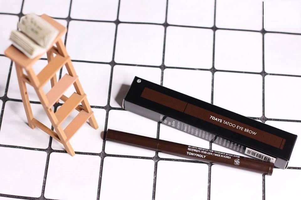 Bút xăm lông mày 7Days Tatoo Hàn Quốc nhập khẩu