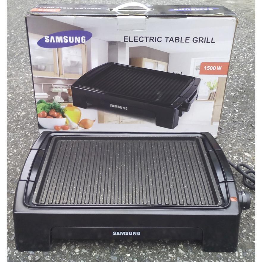 Vỉ nướng bếp nướng điện Korea DH 611A Bảo Hành 12 Tháng