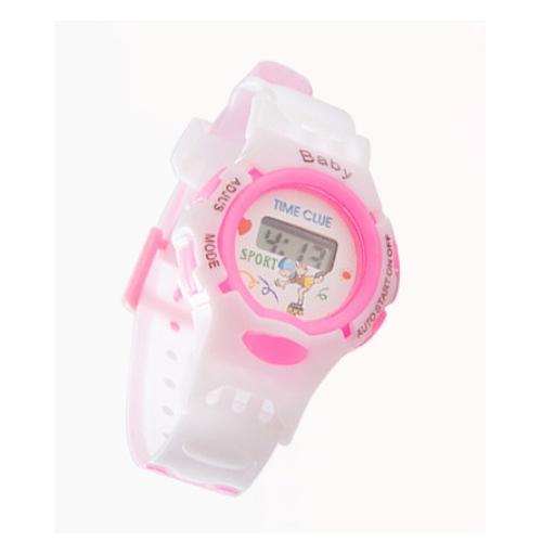 Giá bán Đồng hồ Led cho bé Gái dây Silicon, hàng đẹp như ình 100%, sản phẩm thời trang ,cao cấp ( Màu Hồng )