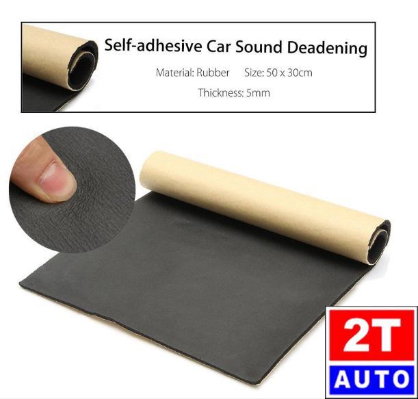 Tấm miếng cao su non cách nhiệt cách âm đa dụng dành cho ô tô xe hơi nhà cửa kích thước 30cmx50cm
