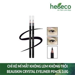 Chì kẻ mí mắt không lem không trôi beauskin crystal eyeliner pencil 3.0g - hàn quốc, cam kết hàng đúng mô tả, chất lượng đảm bảo an toàn đến sức khỏe người sử dụng thumbnail