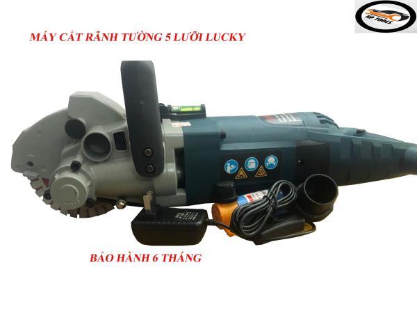Máy cắt rãnh tường 5 lưỡi Công suất 5200w-Hàng chính hãng-Đầy đủ phụ kiện-Bảo hành 6 tháng