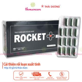 Rocket + hỗ trợ tăng cường sinh lý nam - Chính hãng Sao thái dương - Hộp 45 viên thumbnail