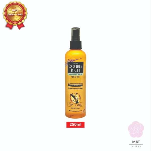 [HCM]Xịt dưỡng tóc Double Rich chăm sóc chuyên sâu dành cho tóc nhuộm 250ml giá rẻ
