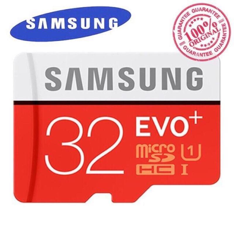 Thẻ Nhớ Samsung Evo Plus 32GB Class10 Tốc Độ 80Mb/s New 2018