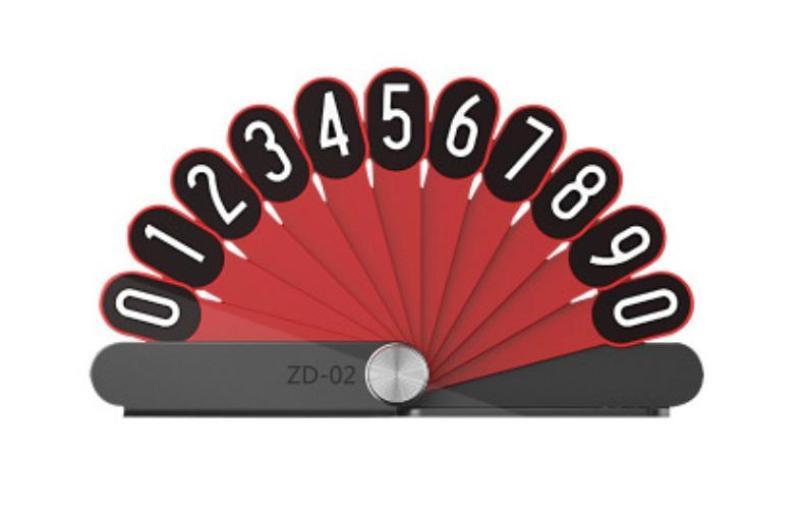Bảng số điện thoại Model 2021 hình đuôi công