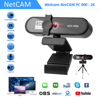 Webcam NetCAM PC 900 độ phân giải 2K - Hãng phân phối chính thức thumbnail