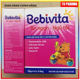 Yến Sào Bebivita - Bé Ăn Ngon, Ngủ Tốt -bé Thông minh Nhãn Hiệu Được Bác Sỹ Khuyên Dùng thumbnail