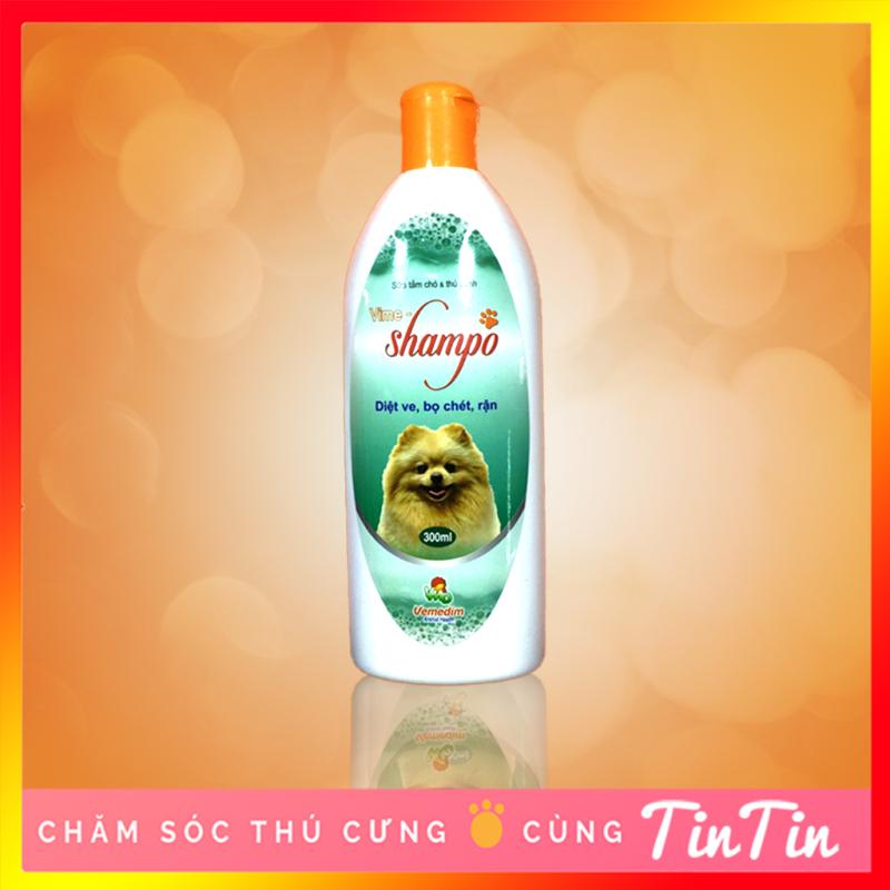 Sữa Tắm Diệt Ve Bọ Chét Rận Vime Cho Chó Mèo 300ml
