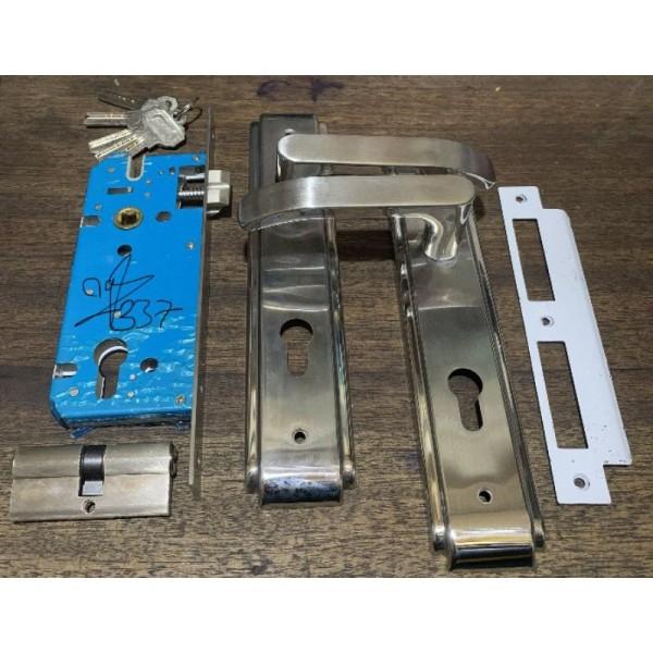 Khóa tay gạt cửa nhôm / gỗ / sắt