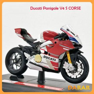 MÔ HÌNH XE MOTO Siêu xe DUCATI Panigale V4 S Corse - MAISTO tỷ lệ 1 18 thumbnail