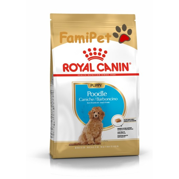 Hạt Thức Ăn Khô Royal Canin Cho Chó Poodle Con 1,5kg – Royal Canin Poodle Puppy