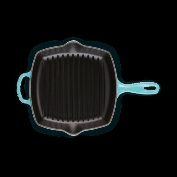 Chảo Nướng Vuông LeCreuset Quadratisch 26cm – Karibik Blau