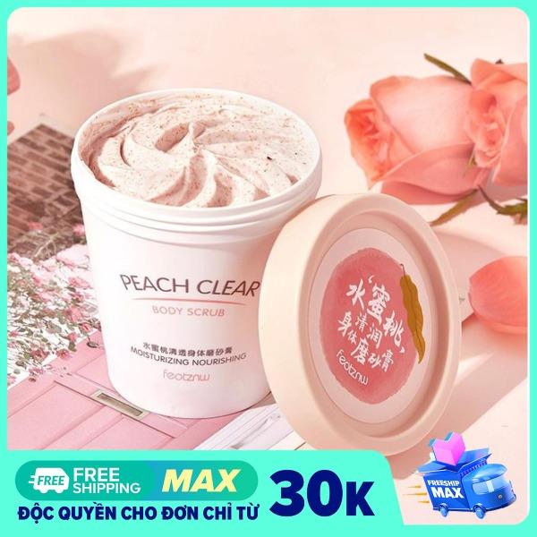 Kem Tẩy Tế Bào Chết Từ Trái Đào Body Peach Feotznw Peach Clear Body Scrub (200ml) Dưỡng Ẩm Làm Trắng Da tốt nhất