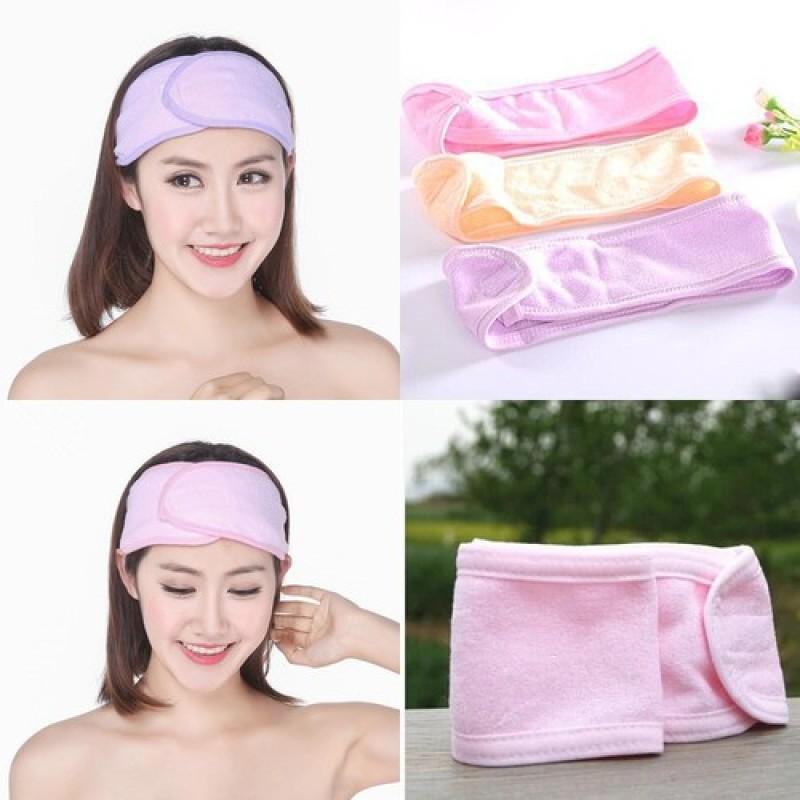 Băng đô dán đầu rửa mặt cho spa và salon tóc