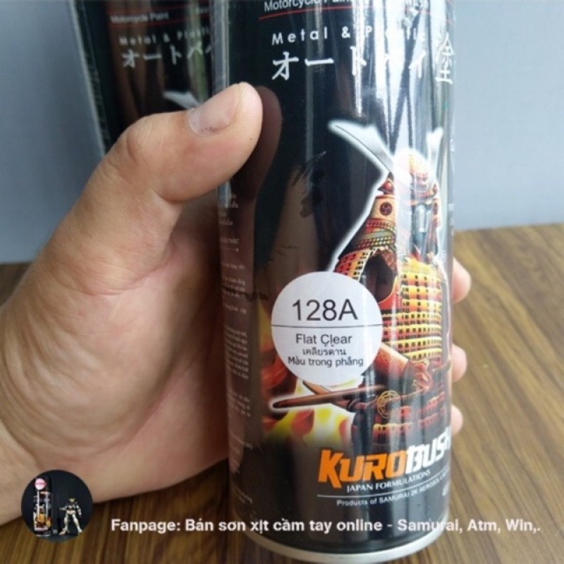 Xịt samurai bóng mờ -128a chất lượng đảm bảo an toàn đến sức khỏe người sử dụng cam kết hàng đúng mô tả