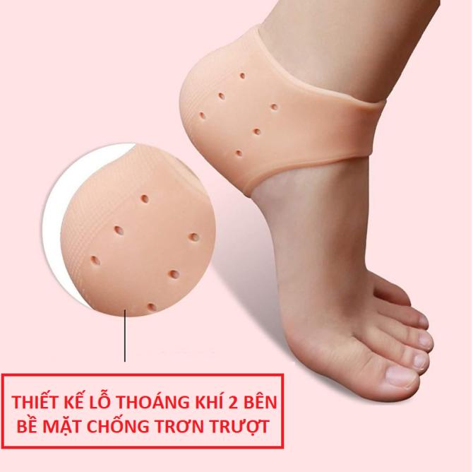 COMBO 2 MIẾNG LÓT GÓT CHÂN SILICON.Và Miếng dán lót gót giày đa năng bảo vệ chân giá rẻ