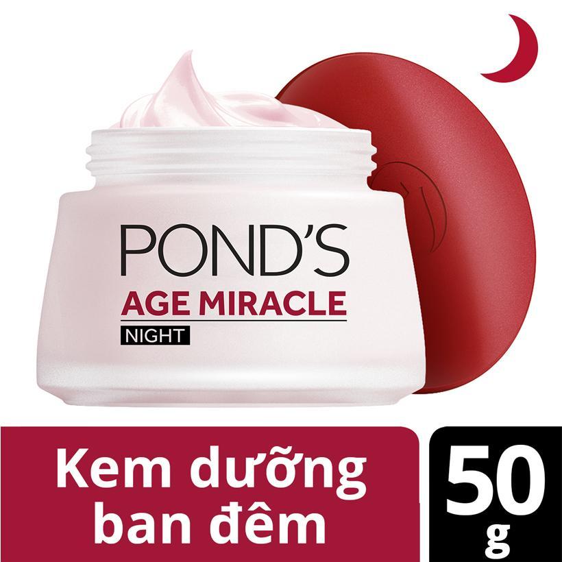 Kem Dưỡng Da Ponds Age Miracle Ban Đêm (50g) nhập khẩu