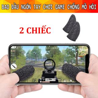 [2Chiếc] Bao Ngón Tay Chơi Pubg Mobile Chống Mồ Hôi, Găng tay chơi game chống mồ hôi cho điện thoại, bao tay chơi game, bao tay chơi liên quân, free fire chống mồ hôi thumbnail