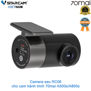 Cam sau RC06 Rear Camera dùng cho 70mai Dash Cam A500s A800s thumbnail