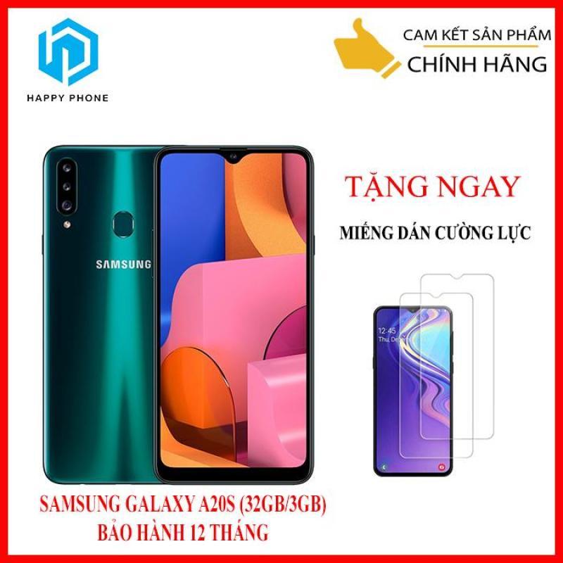 Điện Thoại Samsung Galaxy A20S (32GB/3GB) + Miếng dán cường lực