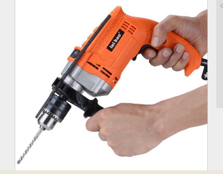 máy khoan cầm tay có chế độ búa , có thể khoan tường gạch , khoan bê tông, có chế độ điều tốc vòng quay vô cấp, có đảo chiều