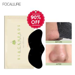 Miếng dán lột mụn FOCALLURE làm sạch sâu hỗ trợ giảm mụn đầu đen cho vùng mũi 2.2g miếng thumbnail