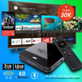 Android TV Box Phiên Bản Ram 2G 16GB Rom Box tv andoid Tích Hợp Chức Năng Tìm Kiếm Giọng Nói Ứng Dụng Xem Phim Có Thể Tải Thêm Trên Play Store Tối Ưu Trên HDMI Bảo Hành 1 Năm H96MINIH8 tv box thumbnail