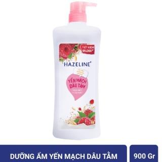 Chai Sữa tắm dưỡng da Hazeline 900gr Màu hồng thumbnail