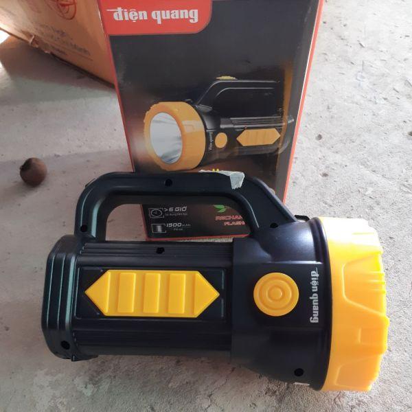 Đèn pin sạc ĐIỆN QUANG 1.5W ĐQ PFL09 R