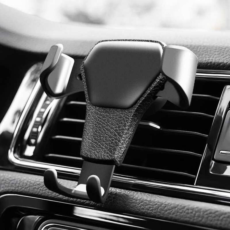 Giá đỡ tam giác gắn khe điều hòa ô tô, xe hơi đa năng