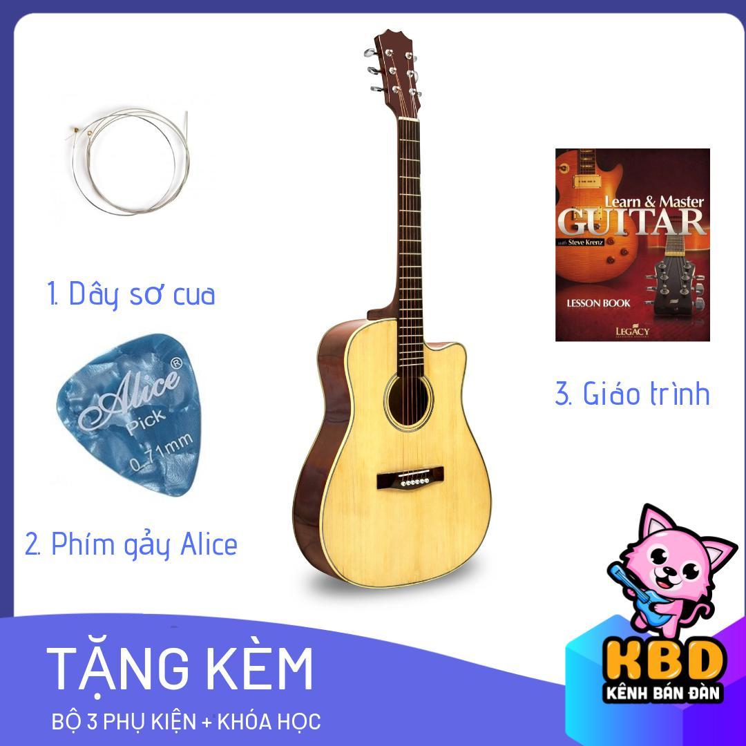 [TẶNG KÈM KHÓA HỌC] Đàn Guitar Acoustic S75 có ty chỉnh cần tặng kèm Nhật Bản