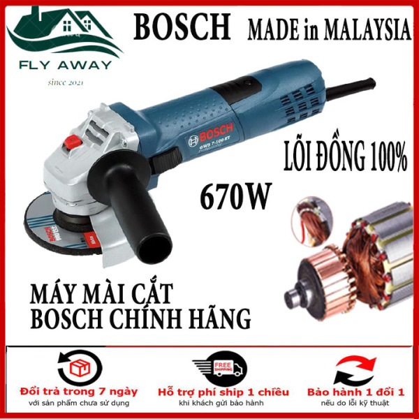 Máy Mài Cầm Tay - Máy Mài Boschh - Máy Mài Boschh chính hãng - Máy Mài Boschh gws - 6-100 ( Có Điều Chỉnh Tốc Độ ) . Bảo Hành Chính Hãng 12 tháng Bởi Fly Away.