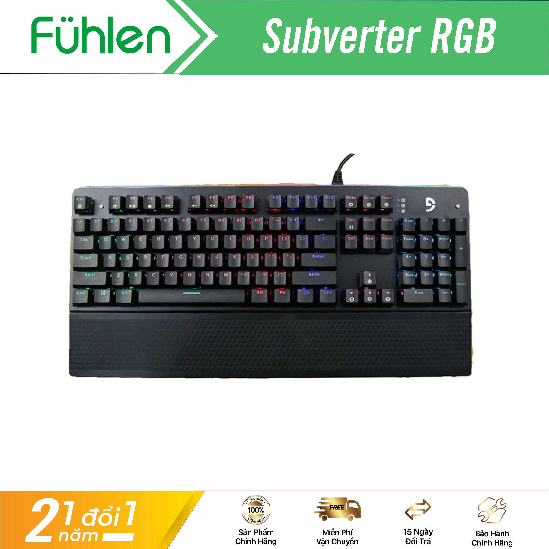 Bàn phím cơ chơi game Fuhlen Subverter Switch quang học