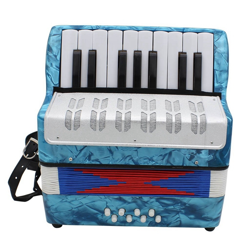 17 Key Professional Mini Accordion Educational Musical Instrument for Both Kids Adult Light Malaysia