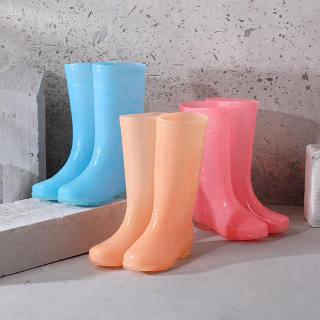 Giày Đi Mưa ST Bốt Đi Mưa Chống Trượt Thời Trang Nữ Giày Cao Su PVC