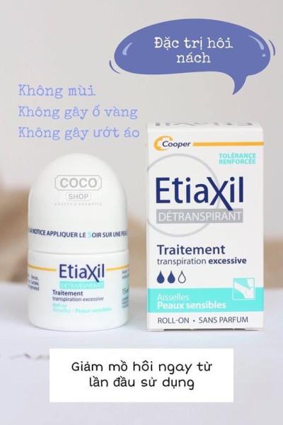Chính hãng lăn khử mùi Etiaxil pháp - lăn nách Etiaxil khử mùi hôi nam nữ đủ màu 15ml cao cấp