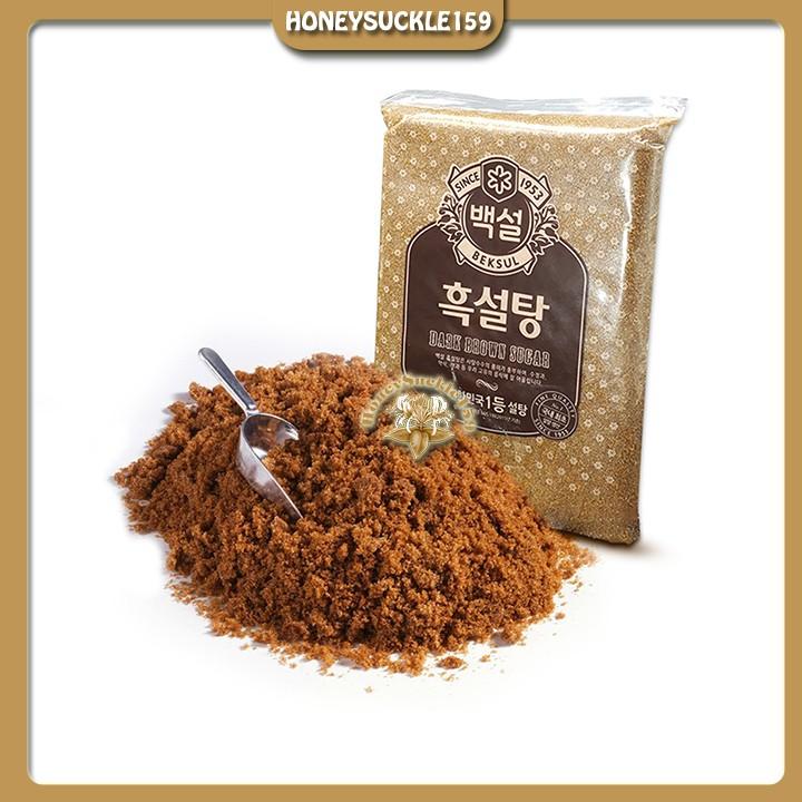 Đường Nâu Đen/Đường Dark Brown Hàn Quốc Chia Nhỏ 100g