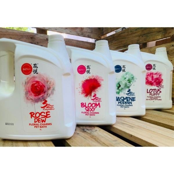 Sữa tắm nước hoa Joyce &Dolls Bloom sexy jasmine modern Rose dew-Lotus xả