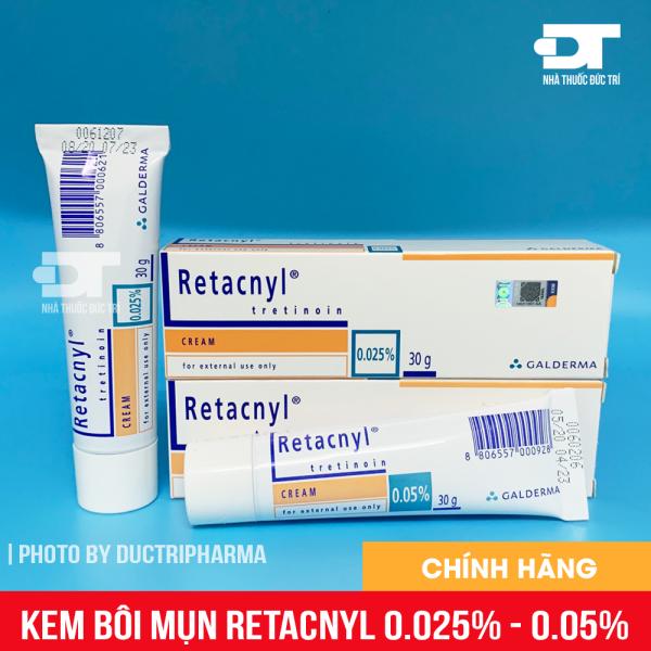 Kem Dưỡng giảm mụn Retacnyl  0.025 - 0.05 giá rẻ