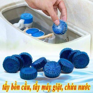 [XẢ KHO] Viên tẩy bồn cầu diệt khuẩn, viên tẩy vết bẩn máy giặt (1 viên) thumbnail