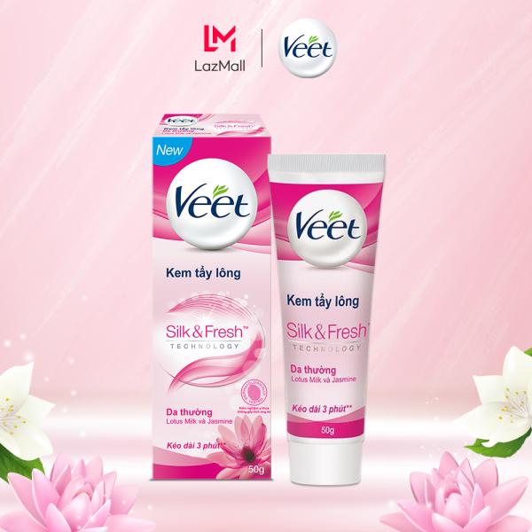 Kem Tẩy Lông Cho Da Thường Veet Silk Fresh 50G nhập khẩu