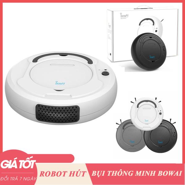 Robot hút bụi lau nhà thông minh BOWAI tự động ( Bảo Hành Đổi mới trong 7 ngày), robot hút bụi Bowai, robot lau nhà tốt, sạch- Máy hút bụi thông minh, Robot hút bụi lau nhà -BẢO HÀNH CHÍNH HÃNG