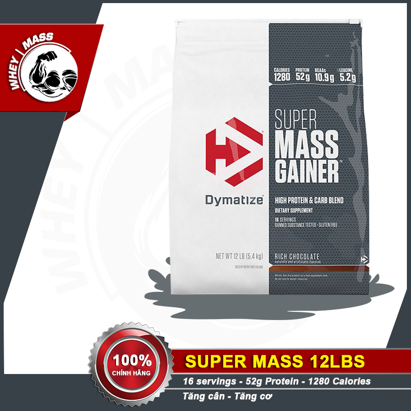 Dymatize Super Mass 12lbs