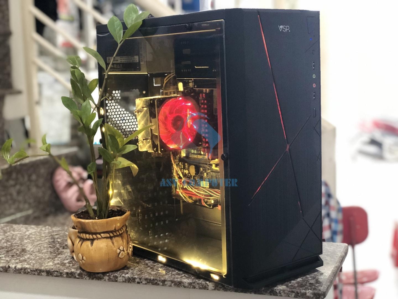 PC chơi game A8 6600k 3 9Ghz/ Ram 8G/ Vga 4G/ Hdd 250G/ Case nguồn như hình