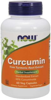 TP Bảo Vệ Sức Khỏe Hỗ trợ chức năng gan mật NOW CURCUMIN (630mg) FROM TURMERIC ROOT EXTRACT (60 Viên) Tinh Chất Nghệ 630mg Curcumin trong 1 Viên Nang thumbnail