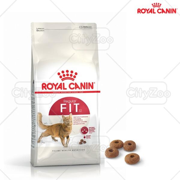 Thức Ăn Cho Mèo Royal Canin Fit 32 - Túi Zip Bạc 1Kg