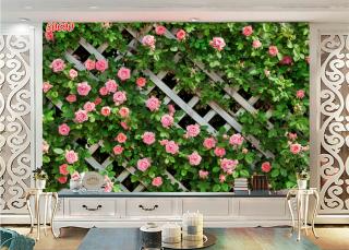 Tranh dán tường 3D , tường hoa hồng( đã tích hợp sẵn keo) KT lớn INBOX shop thumbnail