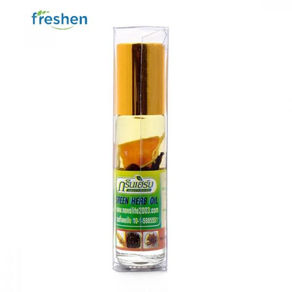 Dầu sâm thảo dược Thái lan Green Herb Oil 8cc .
