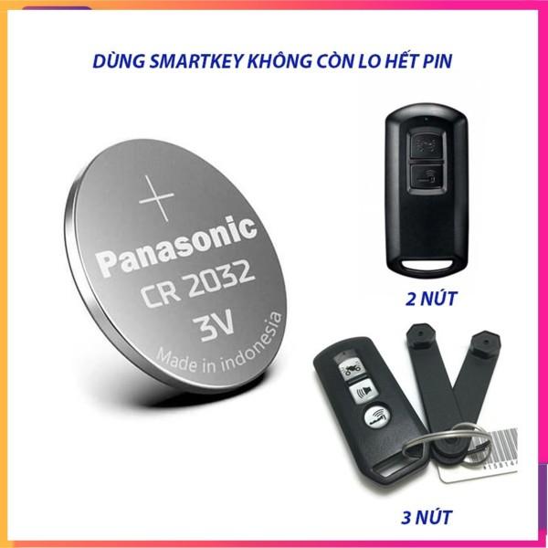 Pin chìa khóa Smartkey Honda CR2032 dùng cho xe Honda Sh, Air blade, Vision, Lead, Vario